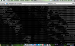 2. B) Resultados obtidos no ASCII Art Generator